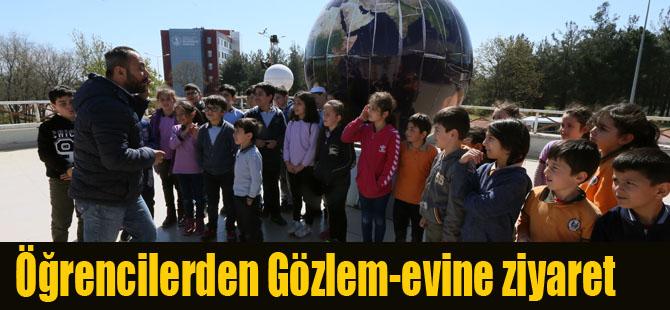 Öğrencilerden Gözlem-evine Ziyaret