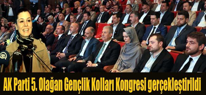 AK Parti 5. Olağan Gençlik Kolları Kongresi gerçekleştirildi