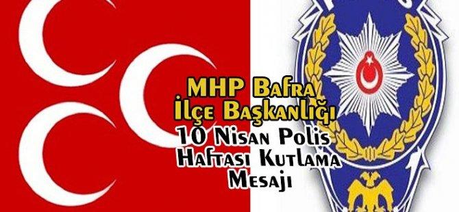10 Nisan Polis Haftası Kutlama Mesajı