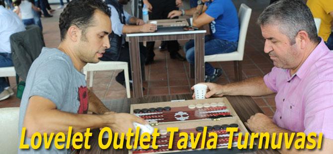 Lovelet Outlet Tavla Turnuvası