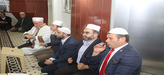 Bafra'da Berat Kandili Programı