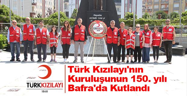 Türk Kızılayı'nın kuruluşunun 150. yılı Bafra'da Kutlandı