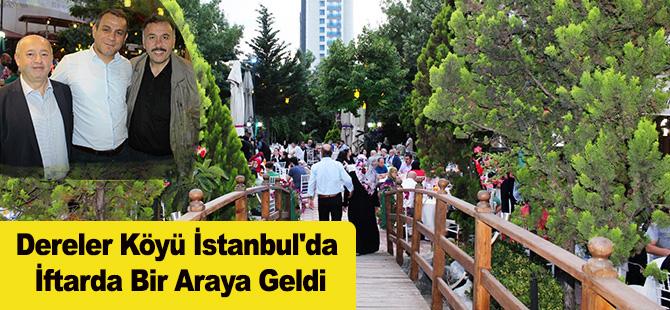 Dereler Köyü İstanbul'da İftarda Bir Araya Geldi