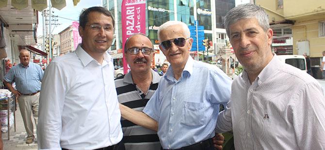 Av. Hüseyin Acar, MHP Bafra ilçe Başkanlığına adaylığını açıkladı