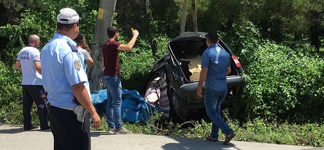 Çarşamba'da Araç Yoldan Çıktı 1 Ölü