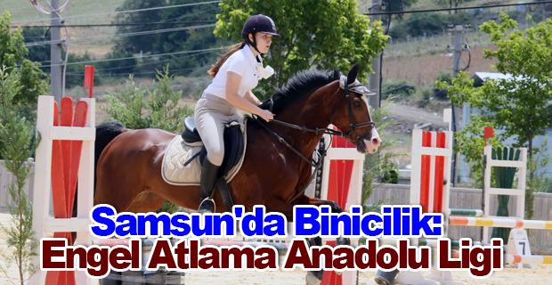 Samsun'da Binicilik: Engel Atlama Anadolu Ligi