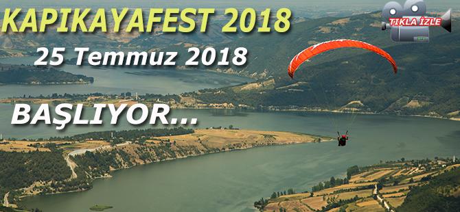 2018 KAPIKAYAFEST BAŞLIYOR