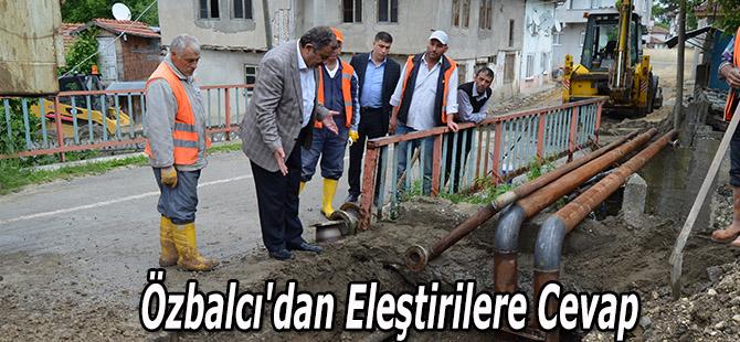 Özbalcı'dan Eleştirilere Cevap