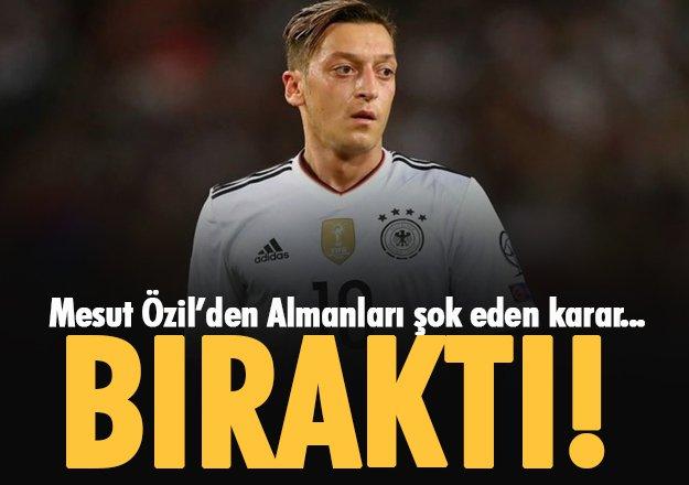 Özil'den Almanlara Tokat Gibi Cevap