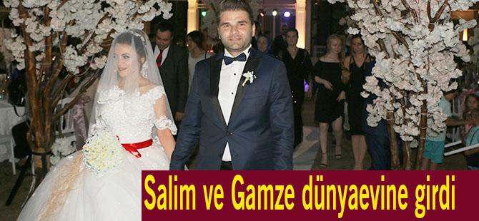 Salim ve Gamze dünya evine girdi