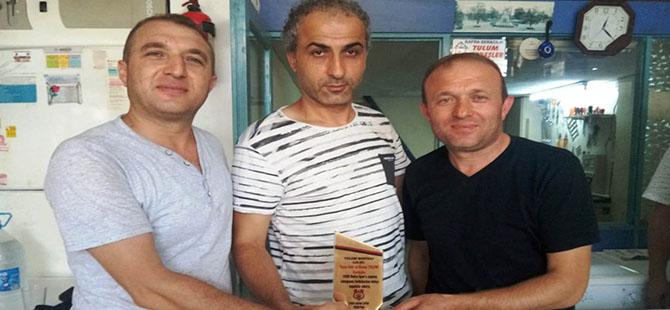 Zeki ve Kenan Tulum Kardeşlerden 1930 Bafraspor'a Destek
