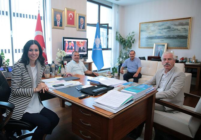 Başkan Uyar 'dan Ankara Ziyareti