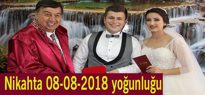 Nikahta 08-08-2018 yoğunluğu