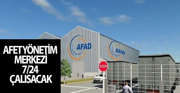 Samsun'da Afet Yönetim Merkezi 7/24 Çalısacak