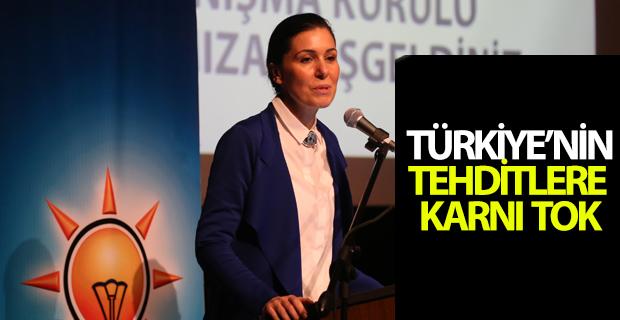 """""""Türkiye'nin tehditlere karnı tok"""""""