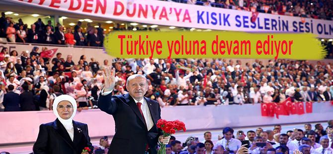 Türkiye yoluna devam ediyor
