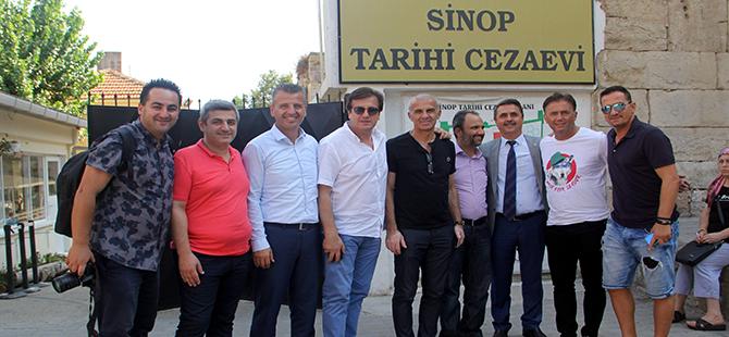 Futbol'un Efsaneleri Sinop'ta Gençlerle Buluştu