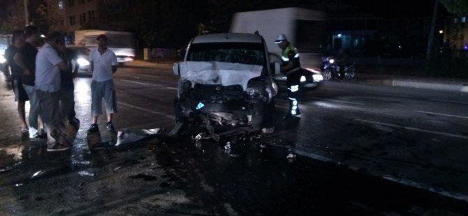 Bafra'da Trafik kazası 2