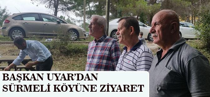 Alaçam Belediye Başkanı Uyar'dan Sürmeli Köyüne Zİyaret