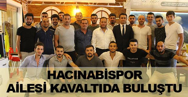 Hacınabispor Kulübü Başkanı ve Yönetimi  Futbolcularla Buluştu.