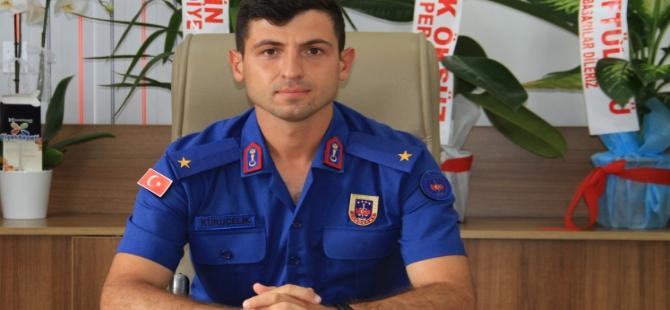 Jandarma Komutanı Göreve Başladı