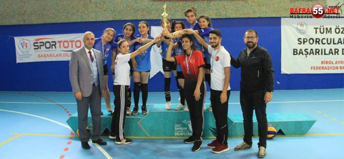 Özel Sporcular Türkiye Voleybol Şampiyonası yapıldı