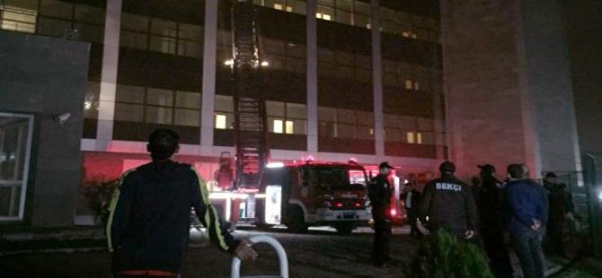 Samsun'da Hastane Yangını