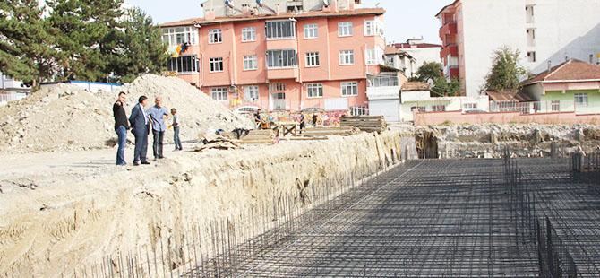 Havza'da Yıkılan Okul İnşaatı başlandı