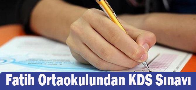 Fatih Ortaokulundan KDS Sınavı