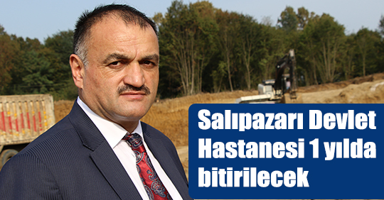 Salıpazarı Devlet Hastanesi 1 yılda bitirilecek