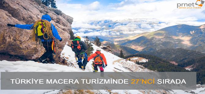 Türkiye macera turizminde çıtayı yükseltiyor