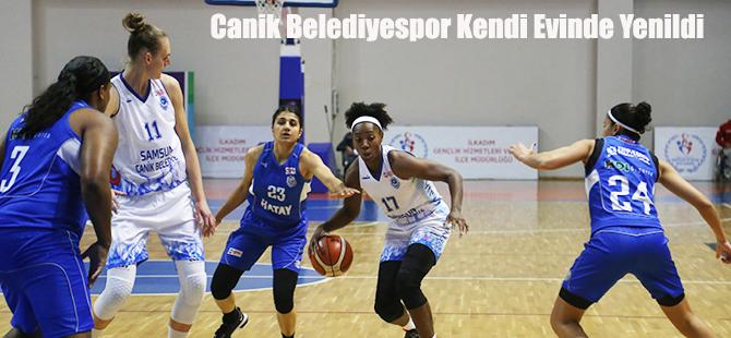 Canik Belediyespor: 57 - Hatay Büyükşehir Belediyespor: 81