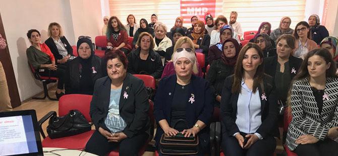 MHP'li Kadınlar kanayan yaraya parmak bastı