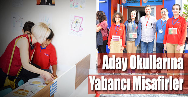 Aday Okullarına Yabancı Misafirler