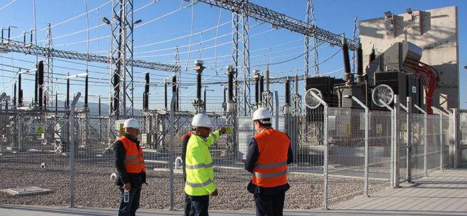 Havza'da Rüzgar Enerjisi Şantiyesine Ziyaret