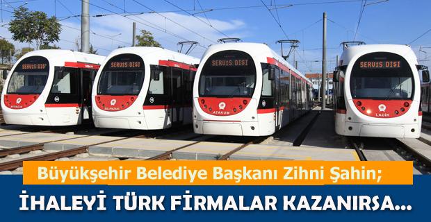 7200 avroluk tramvay parçası 6 bin liraya üretildi