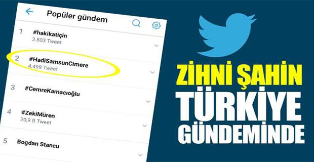 ZİHNİ ŞAHİN YENİDEN TÜRKİYE GÜNDEMİNDE !!!