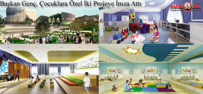 Genç'ten Çocuklara Özel İki Proje