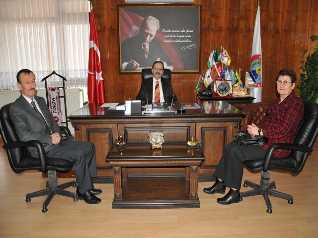 İl kültür müdürü Yüksel Ünal'dan başkan Şahin'e teşekkür