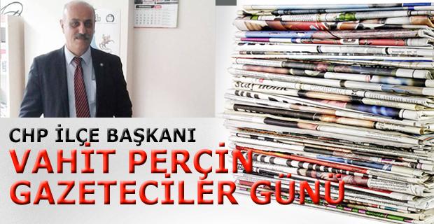 Perçin Gazeteciler Günü Mesajı