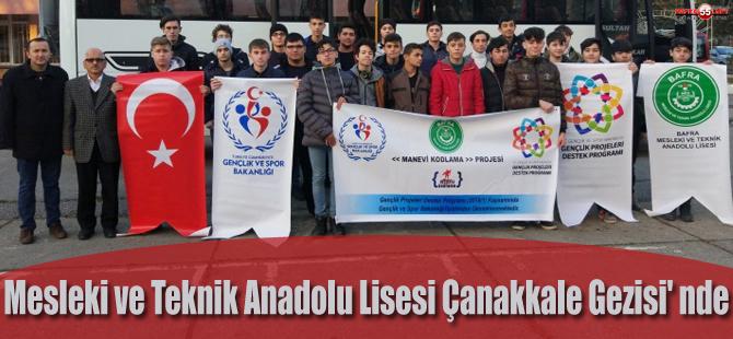 Mesleki ve Teknik Anadolu Lisesi Çanakkale Gezisi'nde