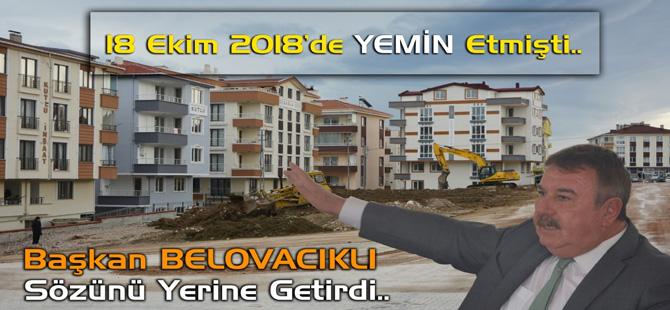 Gerze Belediye Başkanı Sözünü Tuttu