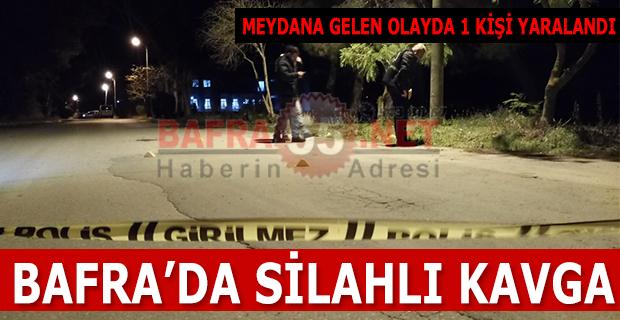 MEYDANA GELEN SİLAHLI KAVGADA 1 KİŞİ YARALANDI !!!