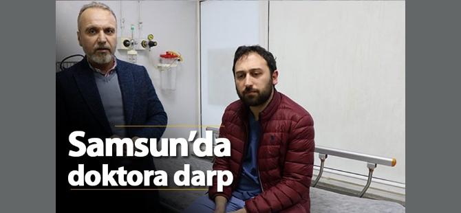 Samsunda Doktor Darp Edildi