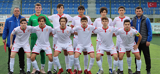Yılport Samsunspor U16 – Anagold 24 Erzincanspor U16: 7 - 0
