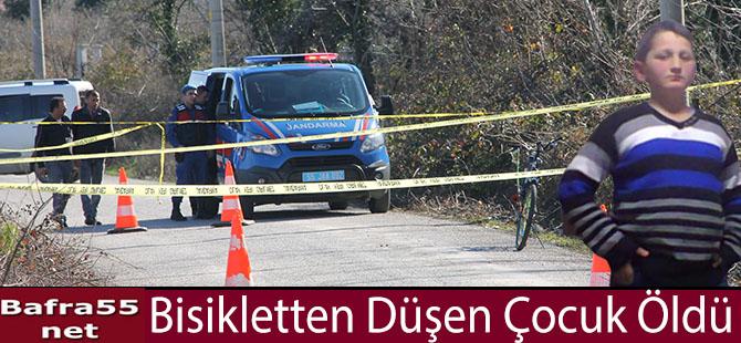 Bisikletten Düşen Çocuk Öldü