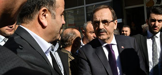 Başkan Zihni Şahin, Lozan Caddesi ve Cumhuriyet Mahallesi Esnafıyla Buluştu