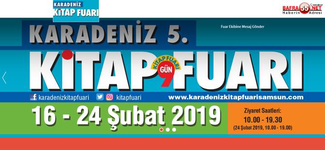 """""""Karadeniz 5. Kitap Fuarı"""" 16 Şubat'ta açılacak"""
