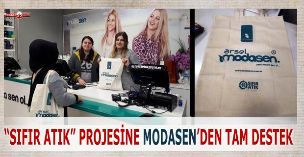 MODASEN Müşterilerine Bez Torba Dağıttı!