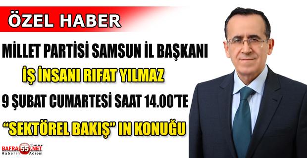 """SEKTÖREL BAKIŞ'TA BU HAFTA """"SİYASET VE EKONOMİ"""" KONUŞULACAK!"""
